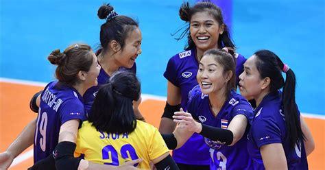 วอลเลย์บอลหญิงไทย ไปตามนัด ชนะคาซัคสถาน 3-1 เซต ลิ่วชิงคัด ...