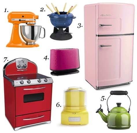 Colourful Appliances  The Kitchen Connoisseur