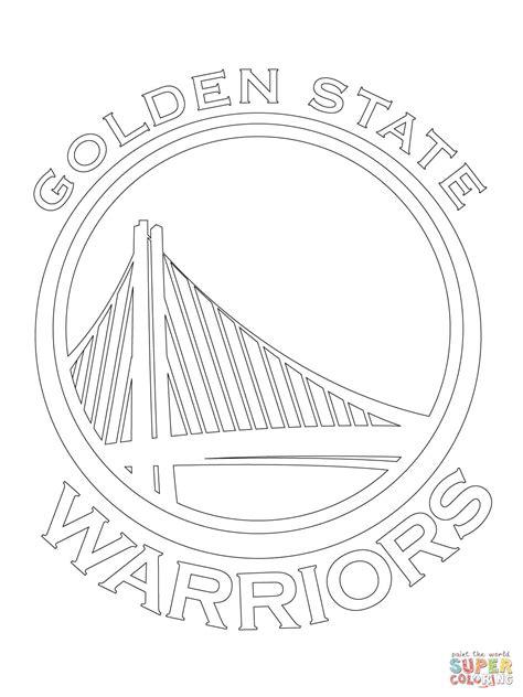 Coloriage Logo Des Warriors De Golden State Coloriages