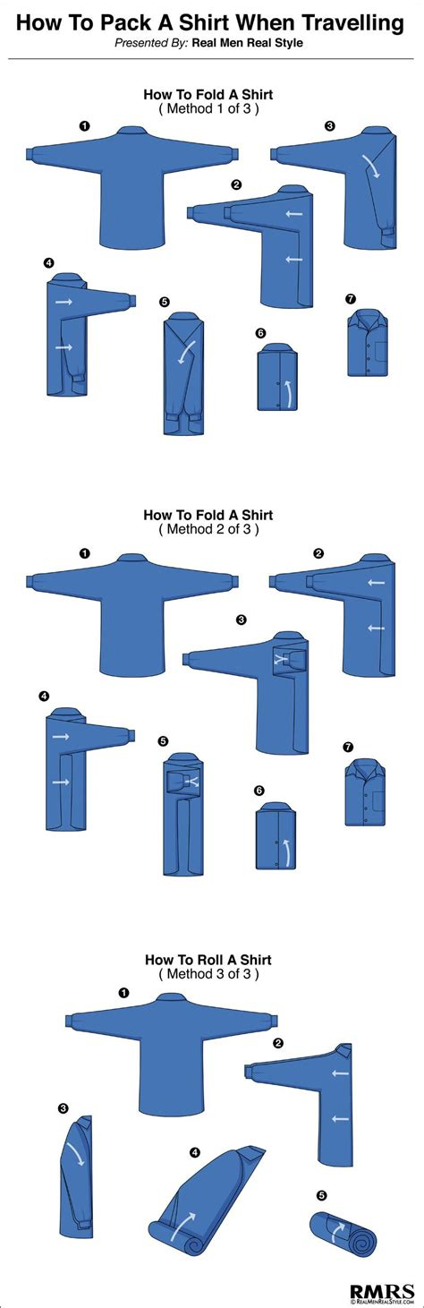 how to fold a shirt how to fold a men s dress shirt travel tips for folding