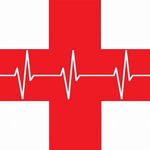 Clipart - Red Cross First Aid Icon