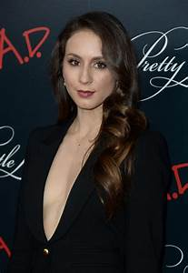 Troian Bellisario At 'Pretty Little Liars' Final Season ...
