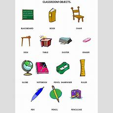 Classroom Objects  School  Pinterest  Classroom, English And Search