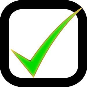 Checkbox Checked Signssymbolcheckmarkscheckmarks3