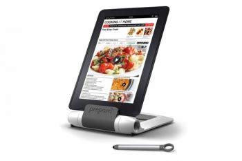 support cuisine tablette support pour tablette spécial cuisine prépara lutrin