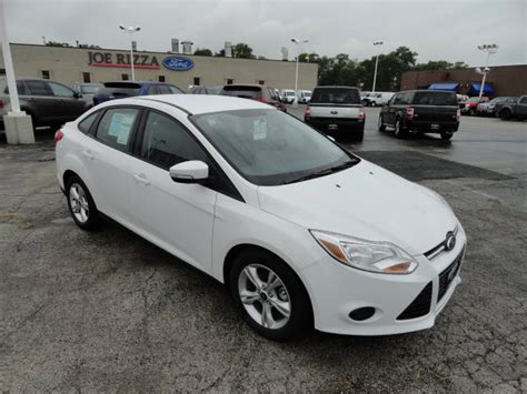 Ford Focus Automatic by Ford Focus 2013 White Sedan Se Flex Fuel 4 Cylinders Front