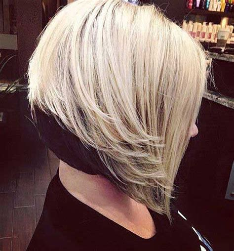 popular  inverted bob hairstyles short