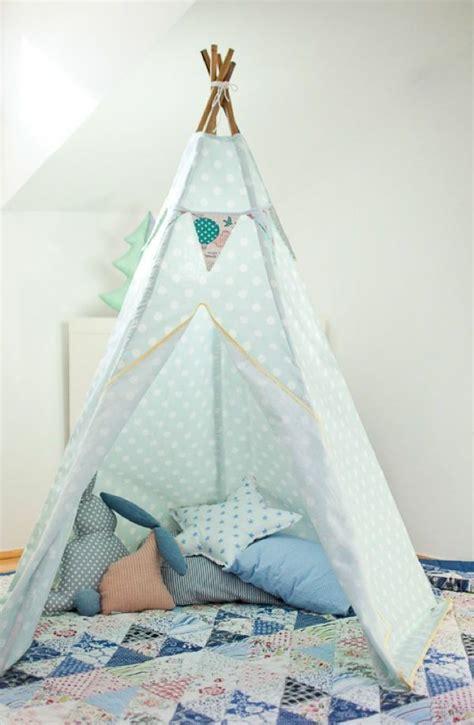 Tipi Kinderzimmer Nähen by Hellblaues Zelt Selber Bauen Zelt Tipi N 228 Hen Tipi