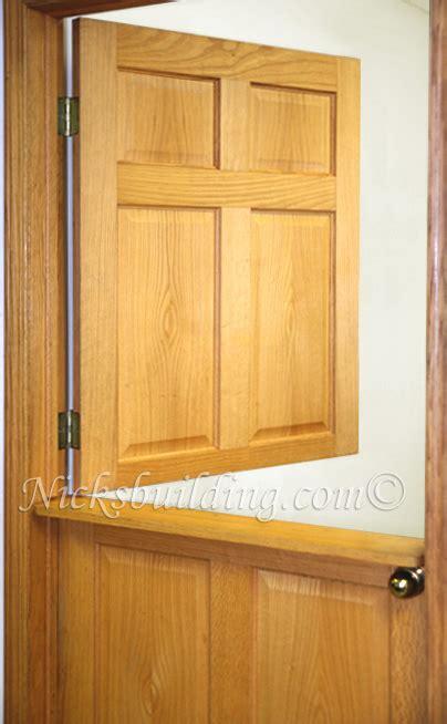 dutch doors interior exterior door