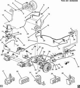 2003 Gmc Sierra Brake Line Diagram