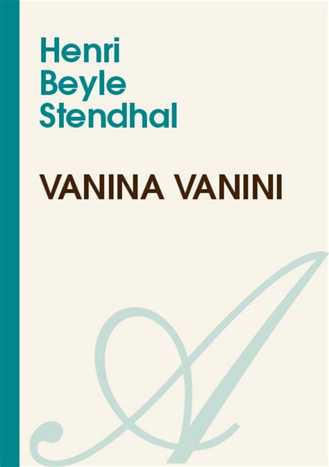 le resume de vanina vanini