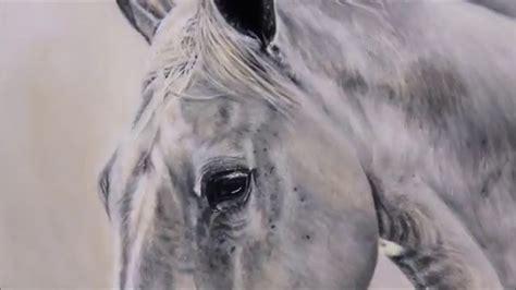portrait malen lassen pferdeportrait ohne rasterprojektor