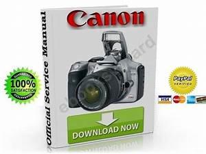 Canon Eos 300d Digital Slr Service  U0026 Repair Manual