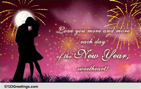 year love cards   year love wishes greeting