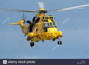 RAF Search and Rescue Sea King. The SAR helicopter is ...