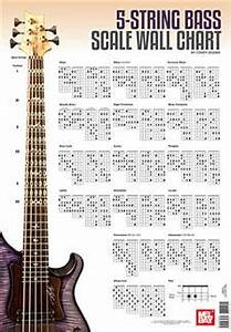 5-string Bass Scale Wall Chart Wall Chart