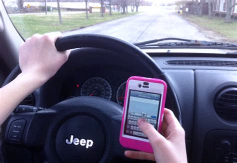 texting  driving inclusion