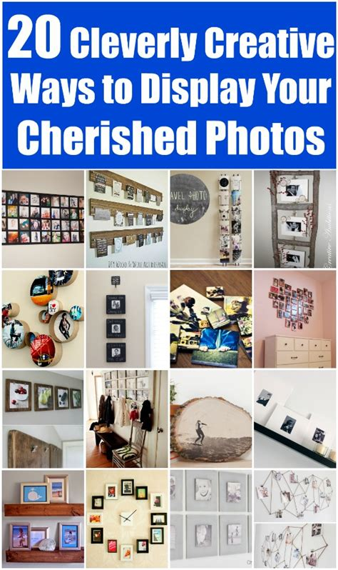 20 Cleverly Creative Ways To Display Your Cherished Photos  Diy & Crafts