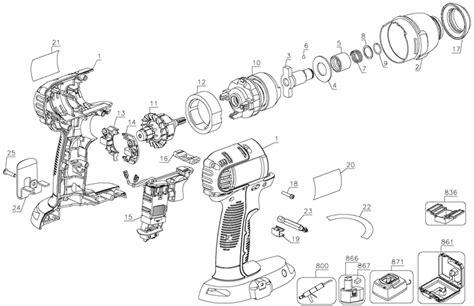 dewalt dc cordless impact driver parts type  parts