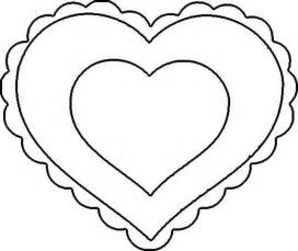 Scalloped Heart Coloring Page