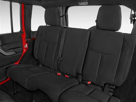 image  jeep wrangler unlimited sport  rear seats