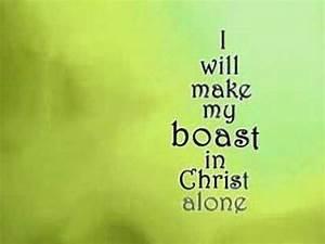 I Will Boast Sing Along - YouTube