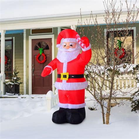 unique inflatable christmas decorations ideas