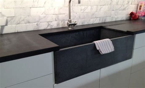 Is Soapstone Soft by Black Soapstone Kitchen Countertop Remodelista