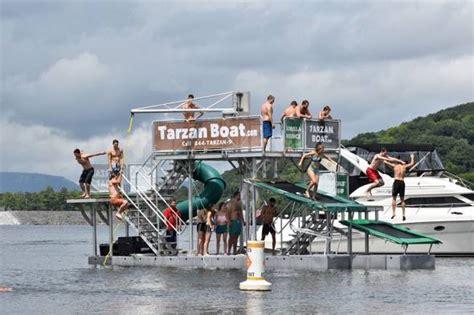 Tarzan Boat Rockaway Beach by Tarzan Boat Ultimate Party Boat Gadgetking