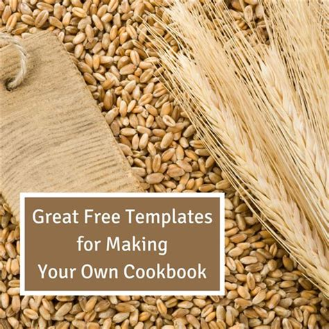 make your own cookbook template collection of free cookbook templates great layouts for recipe and cooking projects
