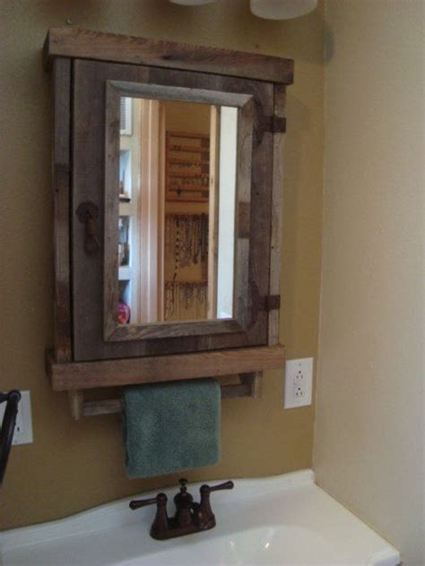 Rustic Medicine Cabinets For The Bathroom by 17 Best Ideas About Rustic Medicine Cabinets On