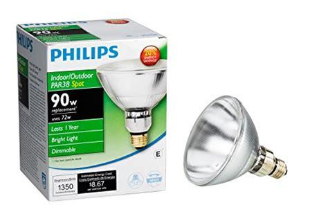 philips 419382 halogen par38 90 watt equivalent dimmable
