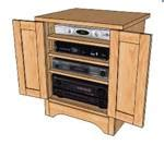 woodwork wood stereo cabinet plans  plans