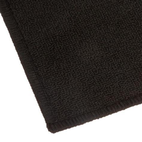 tapis cuisine noir tapis uni anti dérapant noir 50x80cm