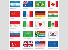 Waving Flags Of G20 Countries Stock Image Image 8788311