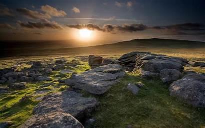 Sunset Scottish Hills Background Wallpapers Highlands Scotland