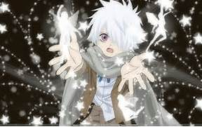 height 5 6 weight 130lbs hair color white eye color purple body type  Anime Boys With White Hair And Green Eyes