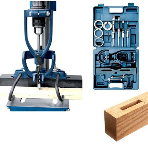 drill press mortise jig plans diy   making