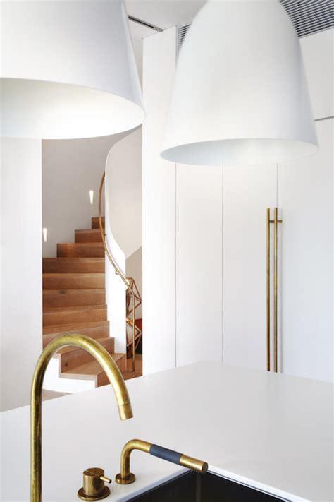 Gold Faucet   Modern Kitchen