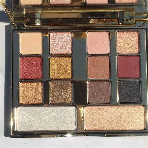 milani gilded desires eye face palette review swatches
