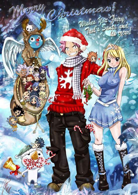 neks entrada especial navidad nalu christmas fairy tail