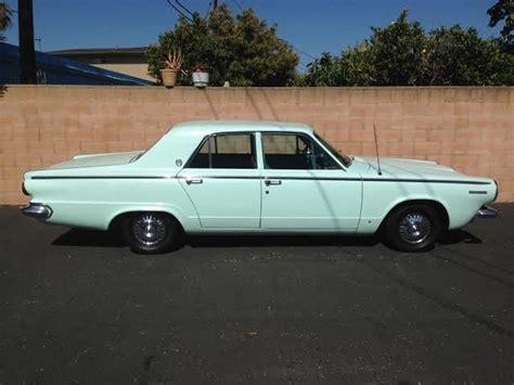 Dodge Dart Sedan 1964 Light Blue For Sale. 7345133694 1964