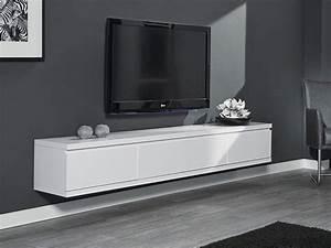 Tv Lowboard Weiß Matt : h ngeschrank lowboard 200x35x32cm wei matt lack 2 ~ Pilothousefishingboats.com Haus und Dekorationen