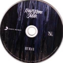 Human Rag and Bone Man CD Cover
