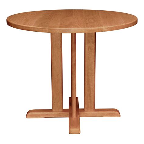 counter height bistro table solid cherry
