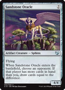 Artifact Commander Deck 2017 by Sandstone Oracle Artifact Cards Mtg Salvation