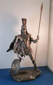 Roman God of War Ares or Mars Statue; Greek God Ares ...