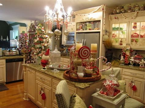 the heart of the holiday decorating your kitchen for