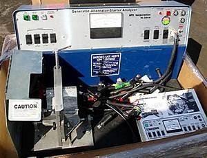 Alternator Starter Bench Tester
