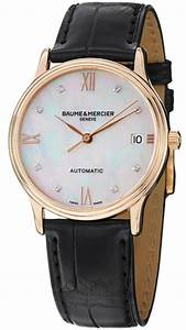 Mercier Auto : new baume mercier classima 10077 womens watch mop diamond dial 18k red gold auto ~ Gottalentnigeria.com Avis de Voitures